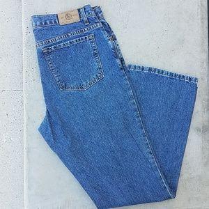 Eddie Bauer boot cut women's size 12 denim jeans